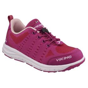 Viking Footwear Arnes Scarpe Bambino rosa/rosso